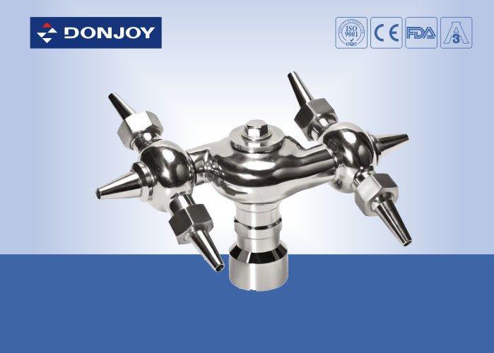 Stainless Steel  CIP System 360° Rotary Tank spray cleaning Ball,Thread Cleanning Ball
