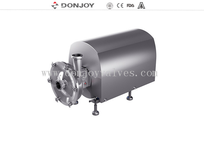 Sanitary Centrifugal High Purity Pumps Fit Cosmetic With Open Impeller