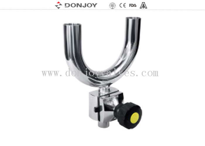316 L SS  Manual Regulating Clamp U - C Tee diaphragm valve
