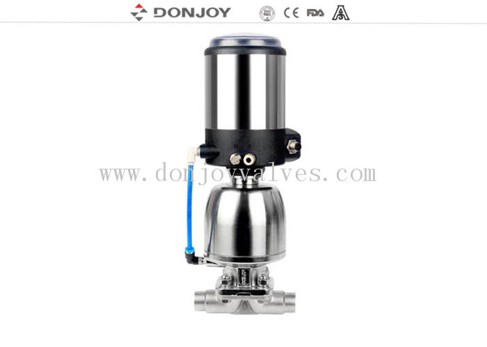 Stainless steel 316L / 304 Regulating Diaphragm Valve for flow control