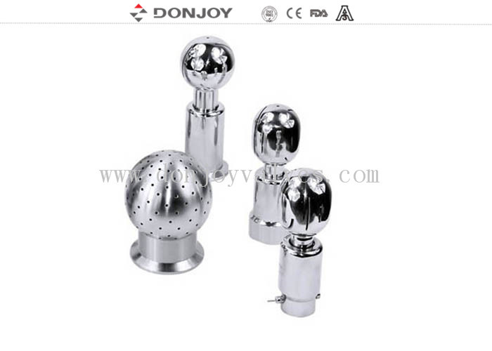 "1/2"" - 2.5"" Welded Rotating Tank Spray Balls Mirror / Matte Polished"