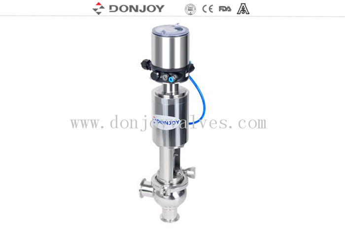 SS316L / SS304 DN 50 Pneumatic Regulating Valve with Intelligent Valve Positioner