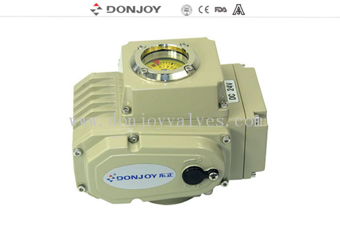 Precise Intelligent Valve Positioner Single Phase Three Phase Electric Actuator