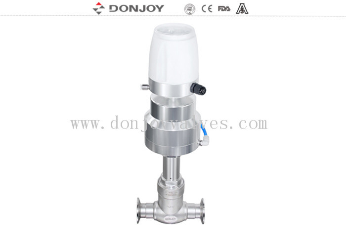 SS304 / SS316L Electric Globe Valve With Intelligent Electric Actuator for regulating