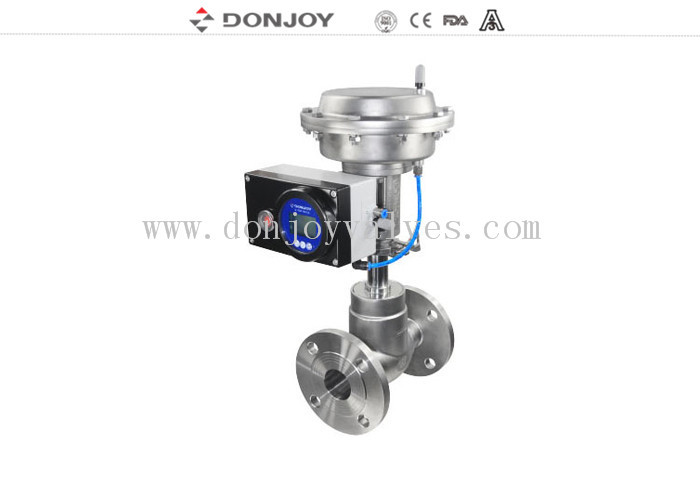SS316L / SS304 Sanitary Diaphragm type Regulating Valve  for regulating flow