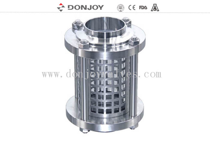 DONJOY stainless steel weld ends sight glass with protective cover DN50